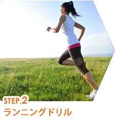 STEP.2 ランニングドリル